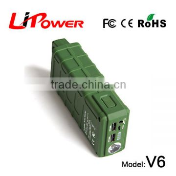12v lithium ion car battery emergency power supply jump starter with smart battery booster