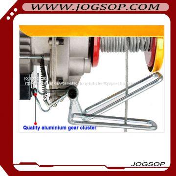 Mini samll PA Electric Motor Wire Rope Lift hoist PA200