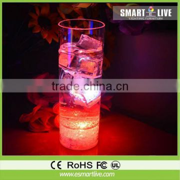 China Manufactuer 500ml LED glow light up drinking glasses