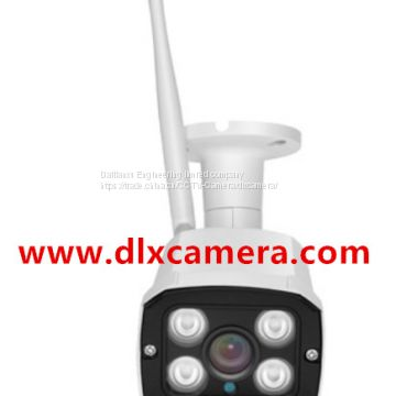 1080P 2Mp Outdoor Water-proof Wireless Network WI-FI IP IR Bullet Camera  with Tri-axis Bracket Support 128G SD card