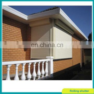 Sun protection aluminum roll up window shutter