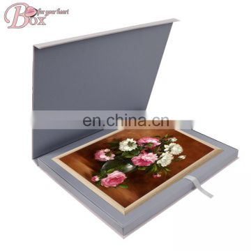 New Design Fresh Ribbon Flip Gift Packaging Box