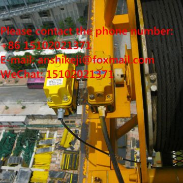 tower crane anti-collision system