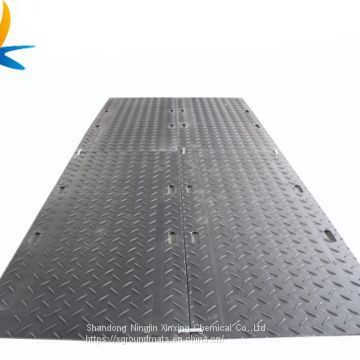 HDPE plastic Mobile road mats