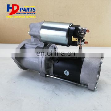 Diesel Engine Starter Motor S4E S4F 24V 3.2KW 11T Machinery Repair Parts