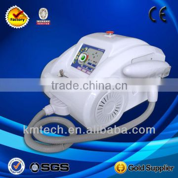 Mini 1064nm&532nm pulsed nd yag laser removing eyebrow tattoo(CE approved)