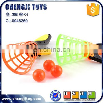 Shooting game plastic scoop catch ball game