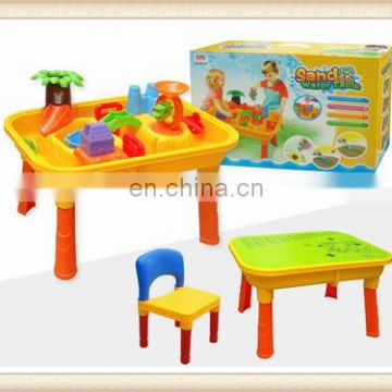 outdoor plastic play sand water table desk toy
