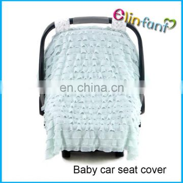 Elinfat 4 in 1 Baby Car Seat Cover Rayon and Nursing Cover