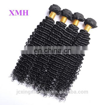Most Popular 100%Virgin Brazilian Natural Black Deep Weave human hair extension