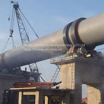 Sale Lime Rotary Kiln Equipment List Clinker Grinding Small Scale Cement Plant