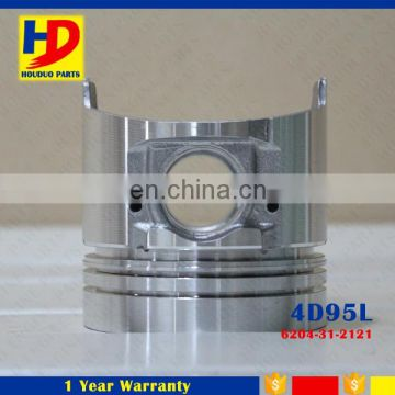 Diesel Engine 4D95L 4D95 Piston With Pin 95MM 6204-31-2121