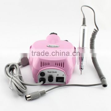 Electric Acrylics Nail Art Nail Drill 35000 File Manicure Pedicure Grooming Kit Bits Professional Salon Machine