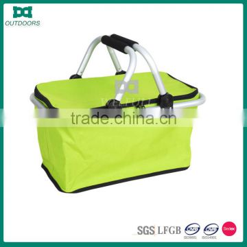 Waterproof folding mini picnic basket