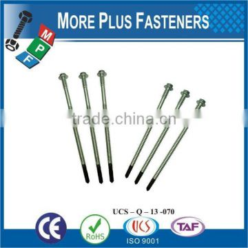 Made in Taiwan Hex Head Bi Metal Screw Tapping screw