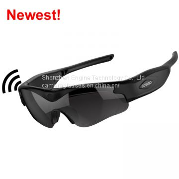 2017 newest HD 1080P wifi camera glasses for outdoor sports