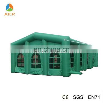 outdoor tents for event weding green inflatable party tent