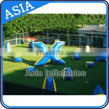 Used Inflatable Snow Bunker for Sport Archery Games / Inflatable Used Paintball Bunkers