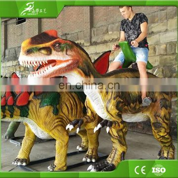 KAWAH Amusement Park Realistic Mechanical Walking Dinosaur Ride