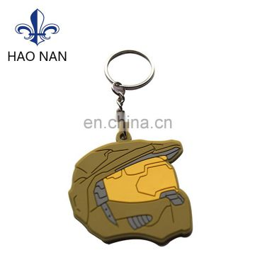 custom design keychain with soft PVC for promotion gift