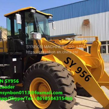 Front shovel, mini, small, wheeled, wheel loader,SY956