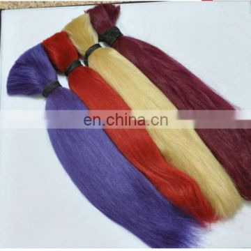 Hot sale factory cheap price high quality 100% human remy kbl hair