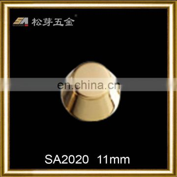High end handbag button rivets,metal push rivet