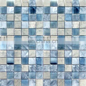 China black purple backsplash cracked glass tiles mosaic