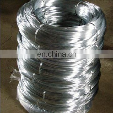 high carbon strong tensile strength galvanized steel wire factory direct sale