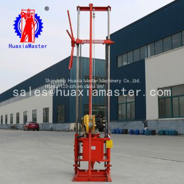 QZ-2CS type windlass sampling drill is more convenient to lift drill geological survey drilling rig displacement 224cc
