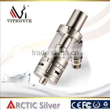 New vape vaporizer stainless rebuildable atomizer horizon arctic tank with CE / FDA / Rohs