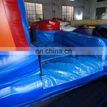 blue crush wave inflatable water slide and slip