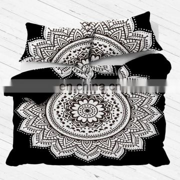 Indian Jaipur Traditional Double Block Print Bedding Set cotton duvet cover