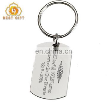 Custom Your Own Name Tag Key Chain