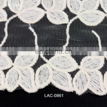 New design high quality bulk french lace fabric for women