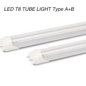Ballast Compatible LED Tube Type A or Type B 18W UL DLC Approved T8 tube light