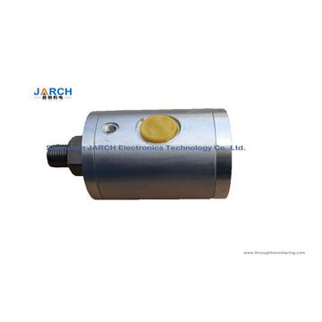 Round Pneumatic Rotary Union , Durable Swivel Ball Joint With Threaded  Connection Stainless Steel Pneumatic Rotary Union