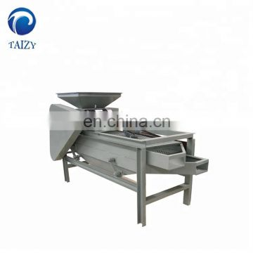 Taizy hazelnut almond breaking shelling machine