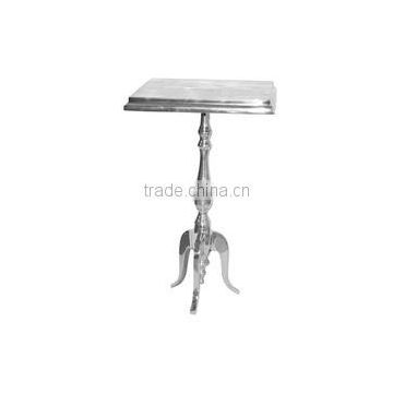 aluminum square top metal table for sale