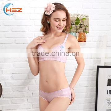 efb263c9b7 ... HSZ-2269 China Manufacturer Sexy Lady New Bra Pantie Photo Women 38 Bra  Size Lingerie ...