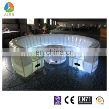 Outdoor inflatable sofa furniture, inflatable sofa for party, inflatable furniture sofa set