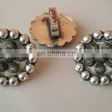 (KR-53400) Afghan Kuchi Tribal Vintage spikes Rings