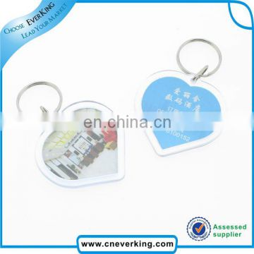 Custom custom made transparent acrylic keychains for promotion