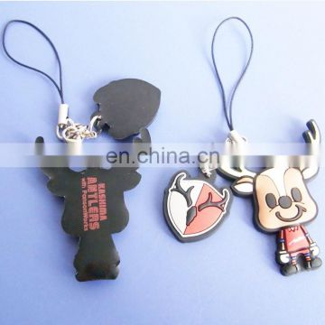 Mascot shape football sports souvenir gifts mobile phone straps wholesale