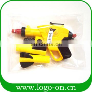 China Import Used Hard Shooting Gun Plastic Assembly Toys