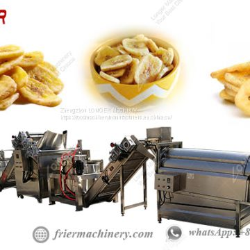 200kg/h Banana Chips Making Machine/Automatic Banana Chips Production Line