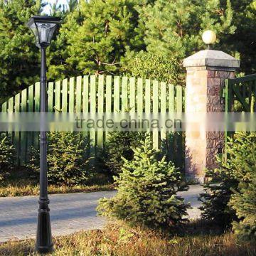 2016 Charming Solar Led Garden Light Nice Led Light Garden Stainless Steel  3m Garden Lighting Pole ...