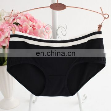 High quality Soft Cotton Striped Print Panty Sexy Girls Preteen Underwear