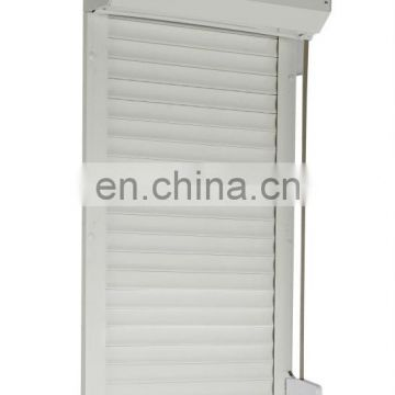 manual operation roller shutter with tape coiler