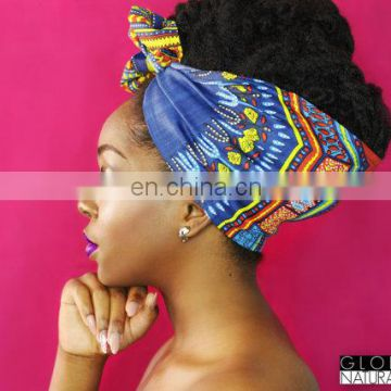 Headwrap Dashiki head wrap African print head wrap cotton Ankara headwrap Turban Head scarf African Headwrap | Easy Head wrap
